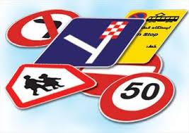 انواع تابلوی ترافیکی