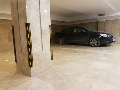 صادرات تجهیزات پارکینگی توسط تولیدکننده ضربه گیر لاستیکی پارکینگ وضربه گیرخودرو