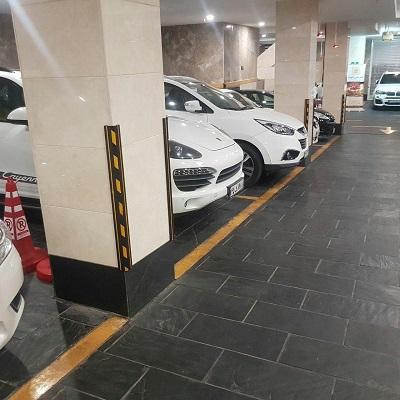 ضربه گیرخودرو فروش محافظ ستون پارکینگدرمرکز تجهیزات پارکینگ